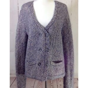 NWT $168 Ann Taylor Wool Mohair Blend Cardigan XL